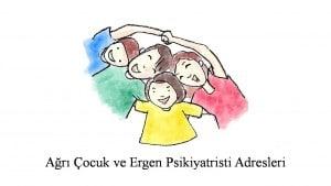 Ağrı Çocuk ve Ergen Ruh Sağlığı ve Hastalıkları Uzmanı,  Psikiyatri Uzmanı,  Psikiyatristi