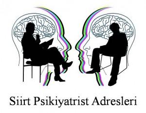 Siirt Psikiyatrist Psikiyatri Doktoru Ruh Sağlığı ve Hastalıkları Uzmanı Adresleri