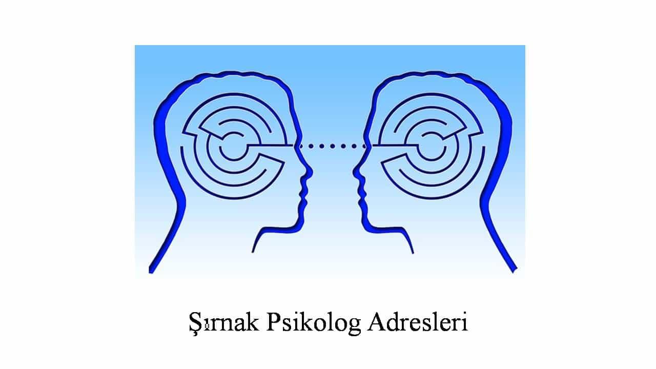 psikolog şırnak - Psikolog Şırnak