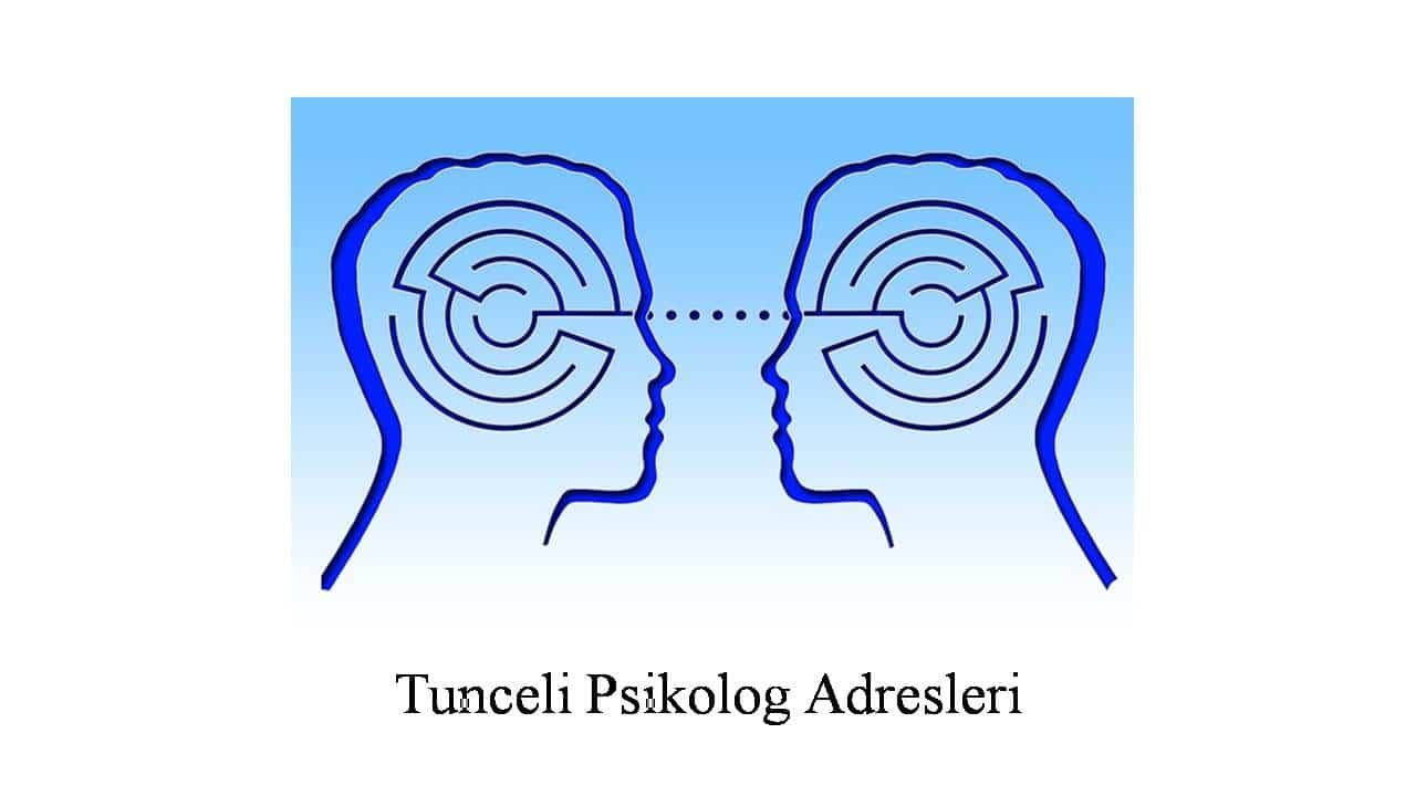 psikolog tunceli - Psikolog Tunceli